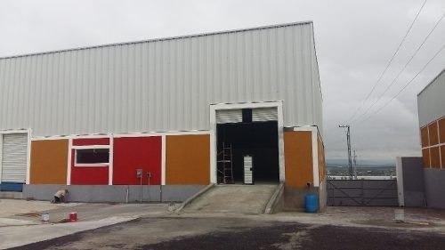 bodega en parque industrial 600m2, oficinas, anden