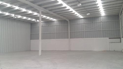 bodega en parque industrial 750m2, oficinas, anden