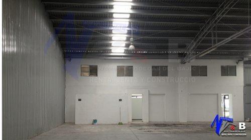 bodega en renta con acceso para trailer 500 m2