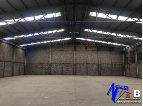 bodega en renta con energía eléctrica 1.300 m2