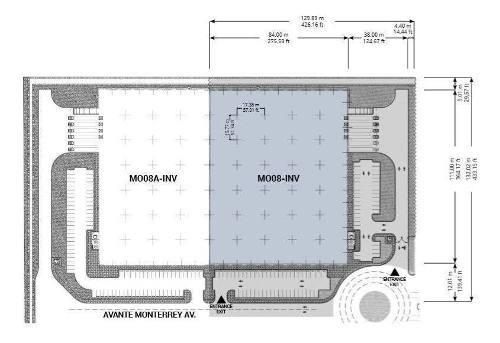 bodega en renta en av. abraham lincoln, industrial park, monterrey nuevo l.