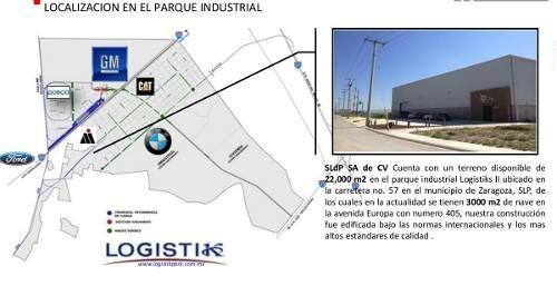 bodega en renta en parque industrial logistik (zona industrial)
