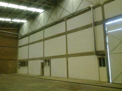 bodega en renta tlalnepantla, 1,132 m2. entrada para tráiler