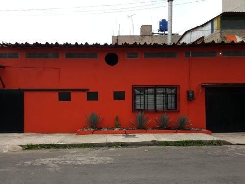 bodega en venta en pueblo de santa cruz meyehualco, iztapalapa.