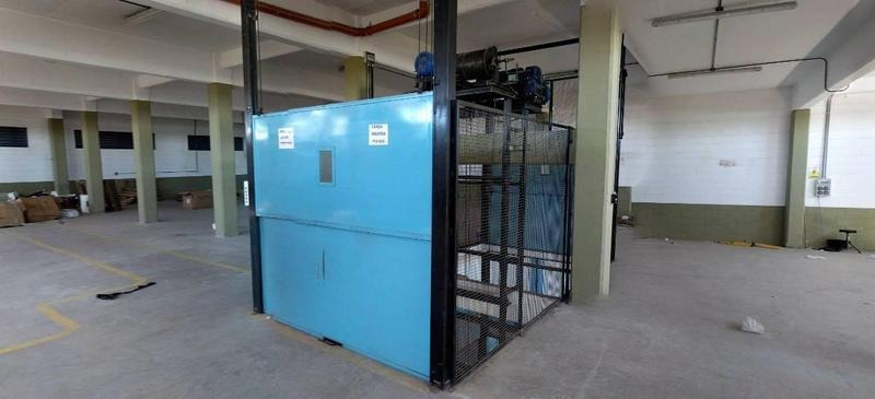 bodega galpon planta industrial, con oficina comercial 4455 m2 cub.