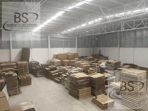 bodega industrial en renta en parque industrial querétaro - gps