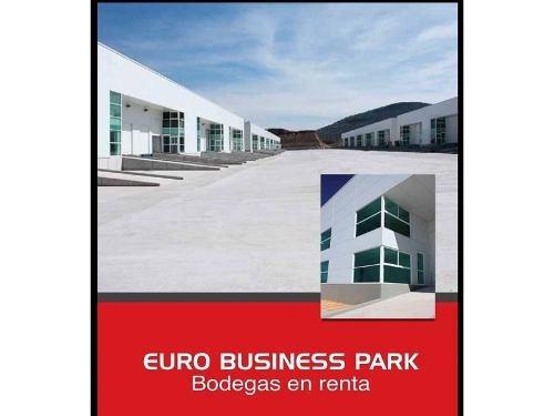 bodega industrial en renta euro business park