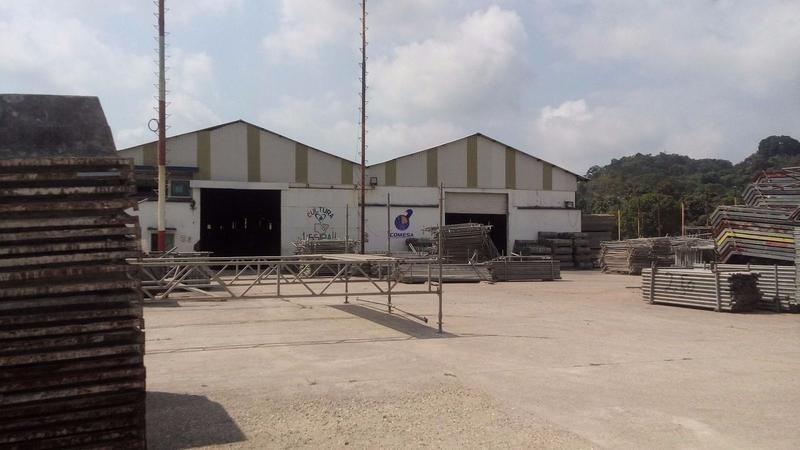 bodega industrial en renta,pueblo el chapo, ixhuatlán del sureste.