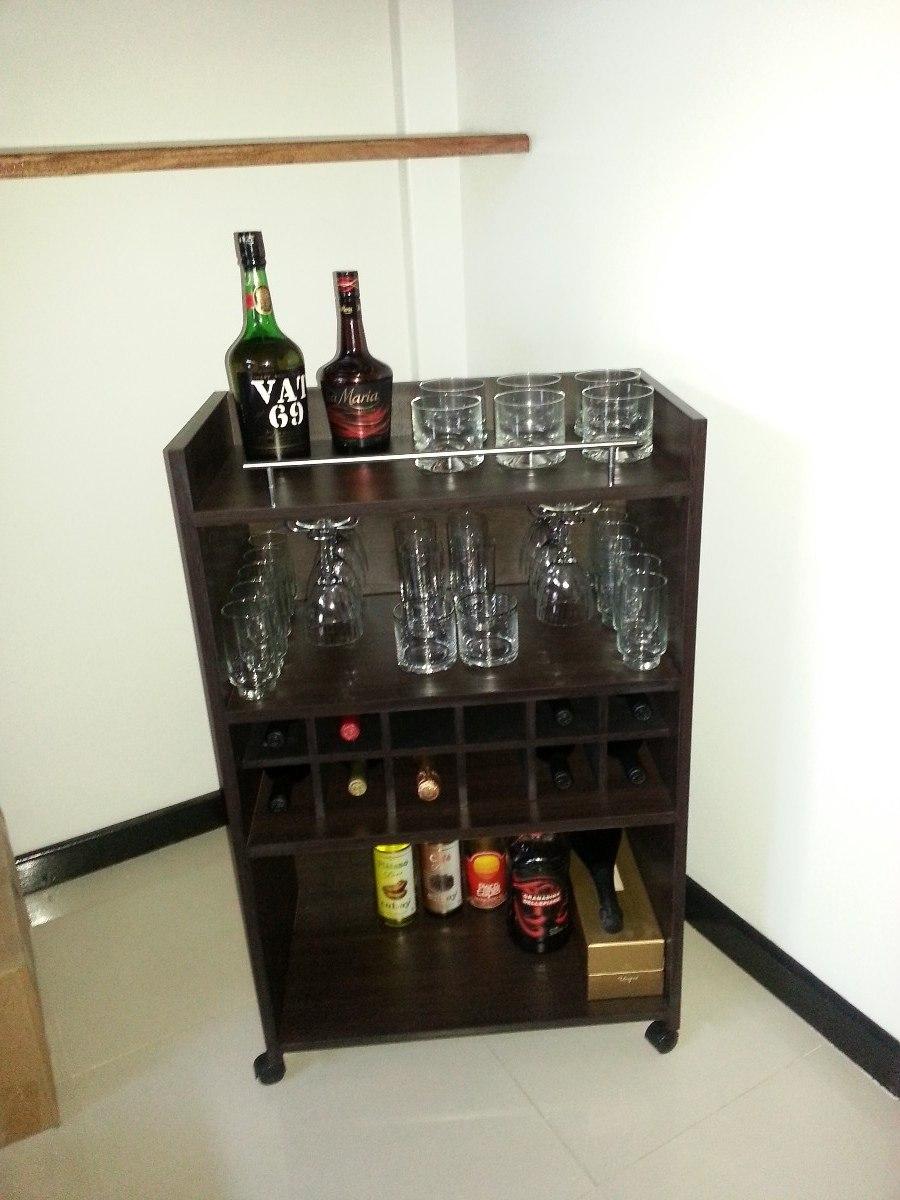Bodega mueble vinoteca mesa bar comedor living modular coci en mercado libre - Muebles para bodega ...