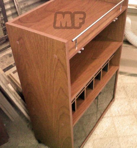 bodega mueble vinoteca mesa bar comedor living modular coci