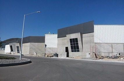 bodega nueva en renta $ 55 m2 parque industrial pyme