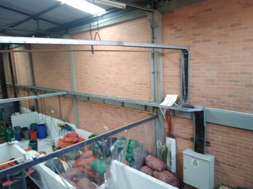 bodega para alimentos  1200 m2