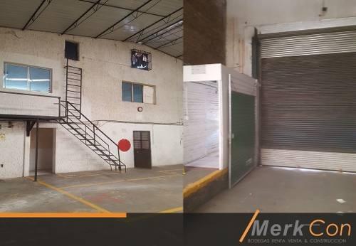 bodega renta 600 m2  lazaro cardenas ferrocarril gob curiel guadalajara jal mx