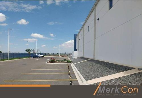 bodega renta superficie de 2,800 m2 nueva zona aeropuerto,qro. méxico