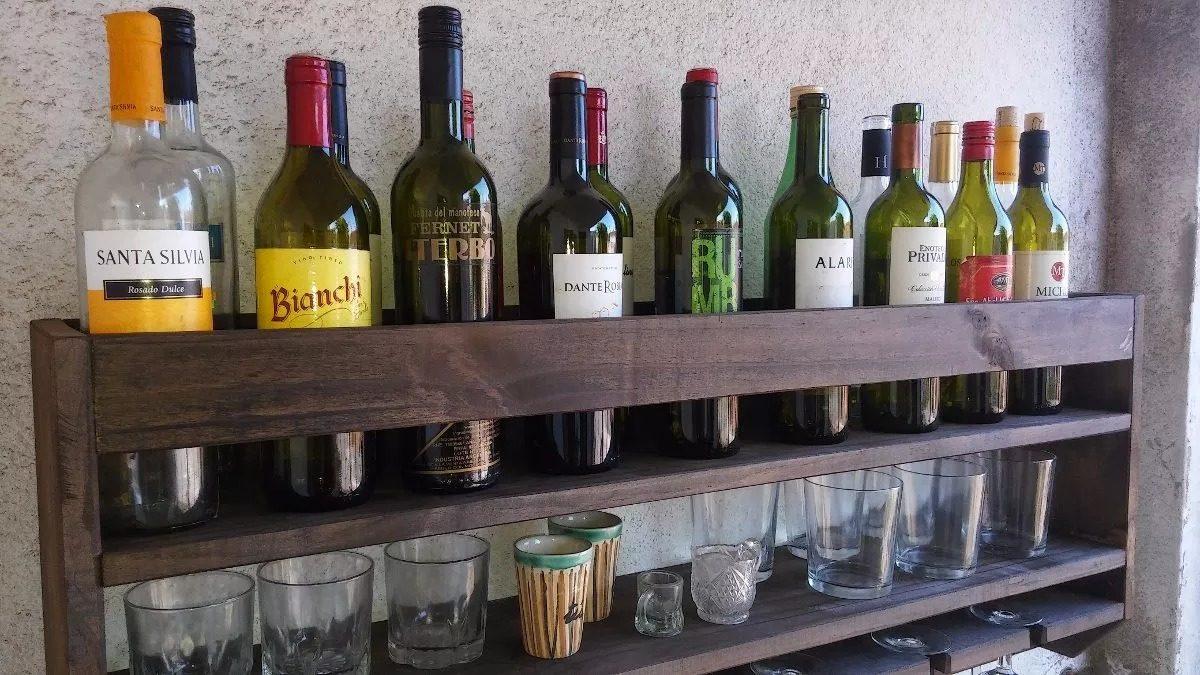 Estanterias para botellas fabulous estanteras para for Estantes para vinos