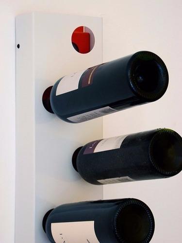 bodega suspendida gruyere 8 vinos original chapa objetos