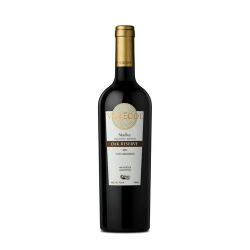 bodega vinecol - vinecol oak reserva - malbec