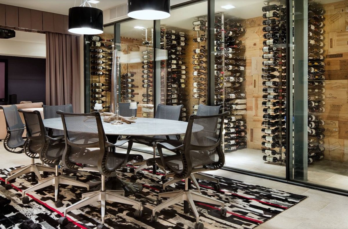 Bodega Vinoteca Cava 26 Botellas Diseño Columna Vino Pared - $ 2.150 ...