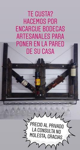 bodegas artesanales de 6 y 3 botellas