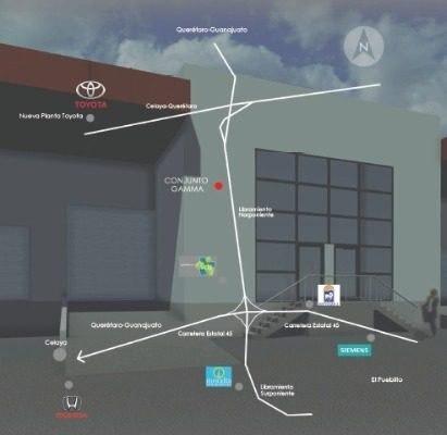 bodegas en venta dentro de parque industrial en  queretaro