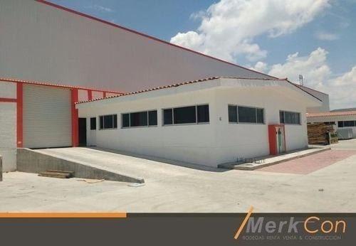 bodegas renta 800 m2 nuevas z. i. balvanera, corregidora,qro