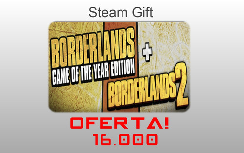 boderlands 1 y 2 steam gift