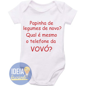 bbdbbb7f0 Body Bebê Infantil - Papinha De Legumes