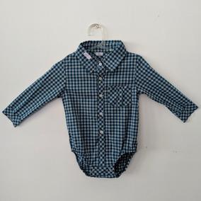2fb8651be0f9a Body Camisa Social Xadrez Manga Longa - Toca Do Coelho