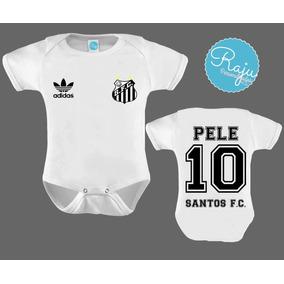 e5de4a9550bcb Camisa Do Santos Original Azul Bebe no Mercado Livre Brasil