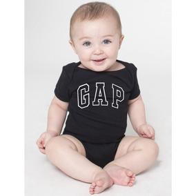 023ece039 Saida Maternidade Roupas Recem Nascido Body Bebe Gap Preto