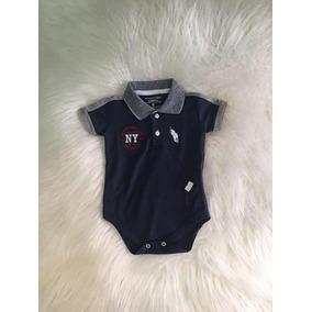 af5e0fcfce03d Body Polo Para Bebê - Estilo Camisa Polo · R  37 99