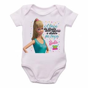 34211b65ba Body Infantil Roupa Bebê Bori Nenê Barbie O Direito Da Força