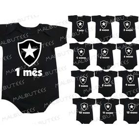 ed374c2666d6c Body Infantil Botafogo no Mercado Livre Brasil