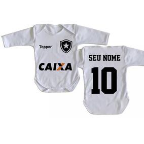 7102f32f9005a Roupas De Menina Bebe Botafogo no Mercado Livre Brasil