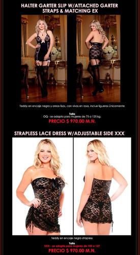 bodies sexy´s y  sofisticados para tallas extras