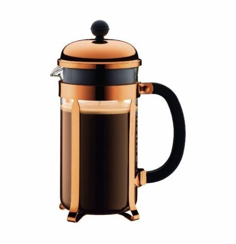 bodum 8 cup 1928-18 chambord classic coffee maker, 34 oz, c