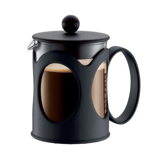 bodum new kenya 17-onzas de café press, negro
