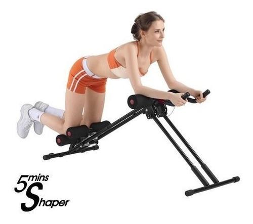 body action fitness 5mins shaper maquina ejercicios abdomina