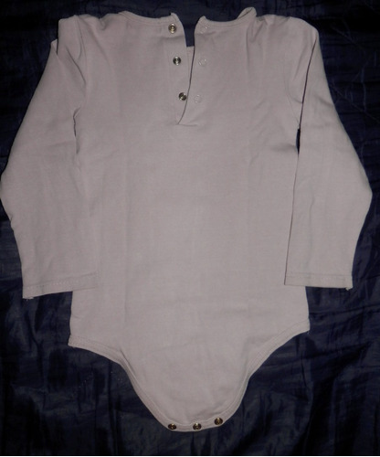 body algodón manga larga-ropa beba 18-24 meses