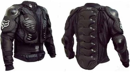 body armor protección moto fox