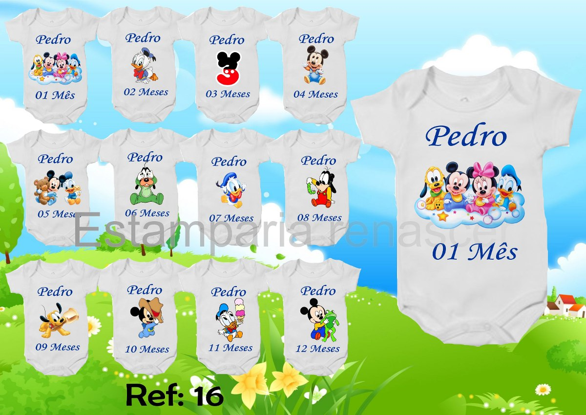 26df3b679 body baby looney tunes mesversario personagem kit com 12und. Carregando zoom .