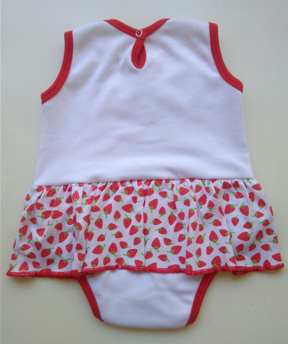 9219bd1943 body banho de sol rn a 12 meses roupa de bebê menina lindo. Carregando zoom.