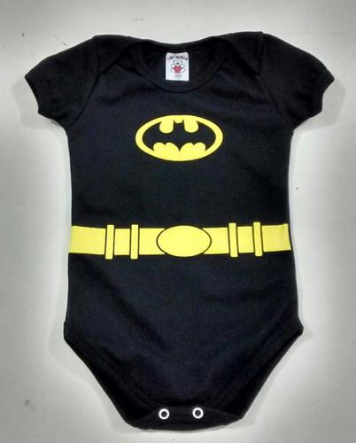 body batman bodie bebe herói fantasia roupa liga justiça