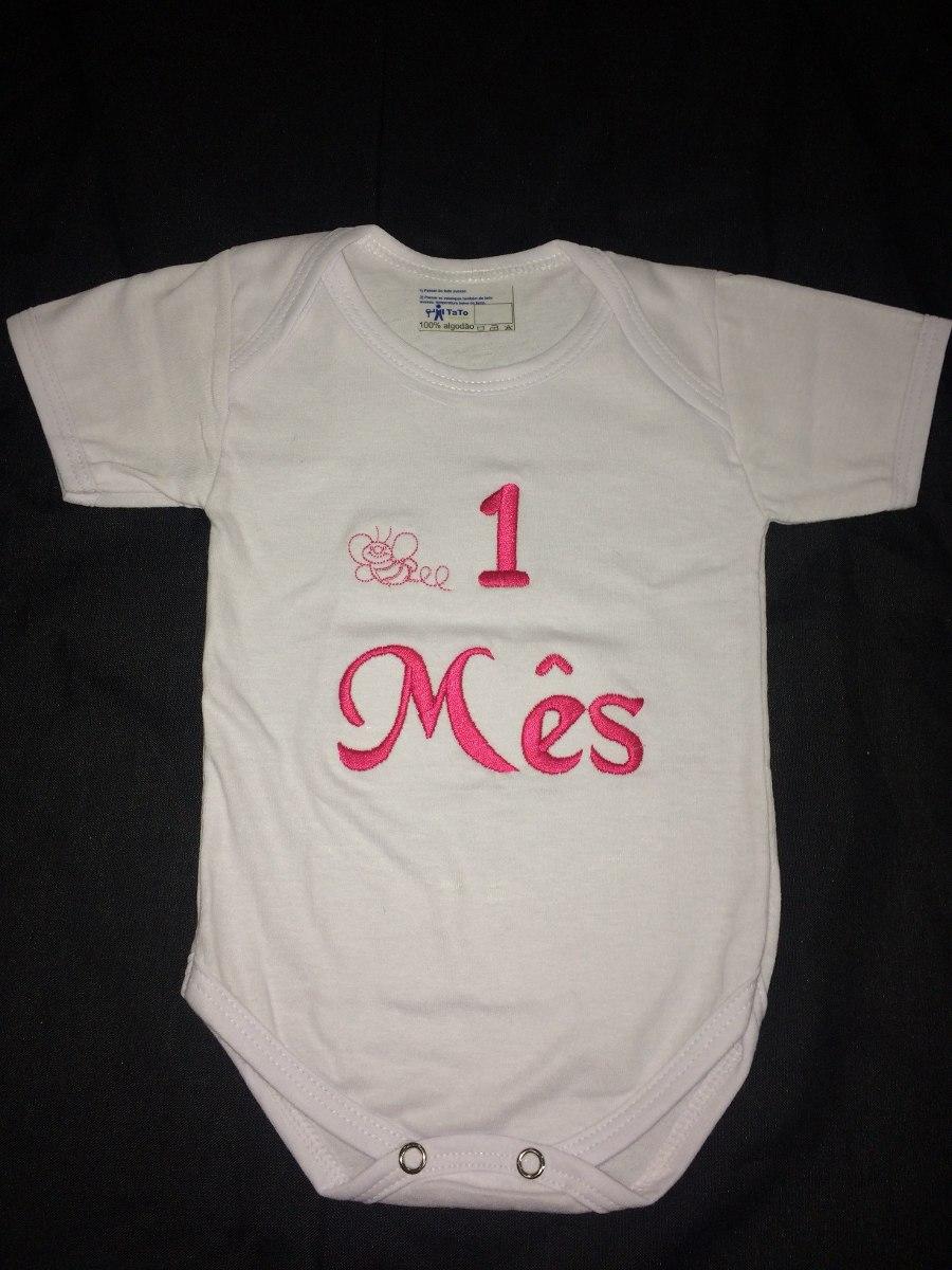 31d69a8ef Características. Marca TATO  Modelo Body Bebê  Personagem bordado ...