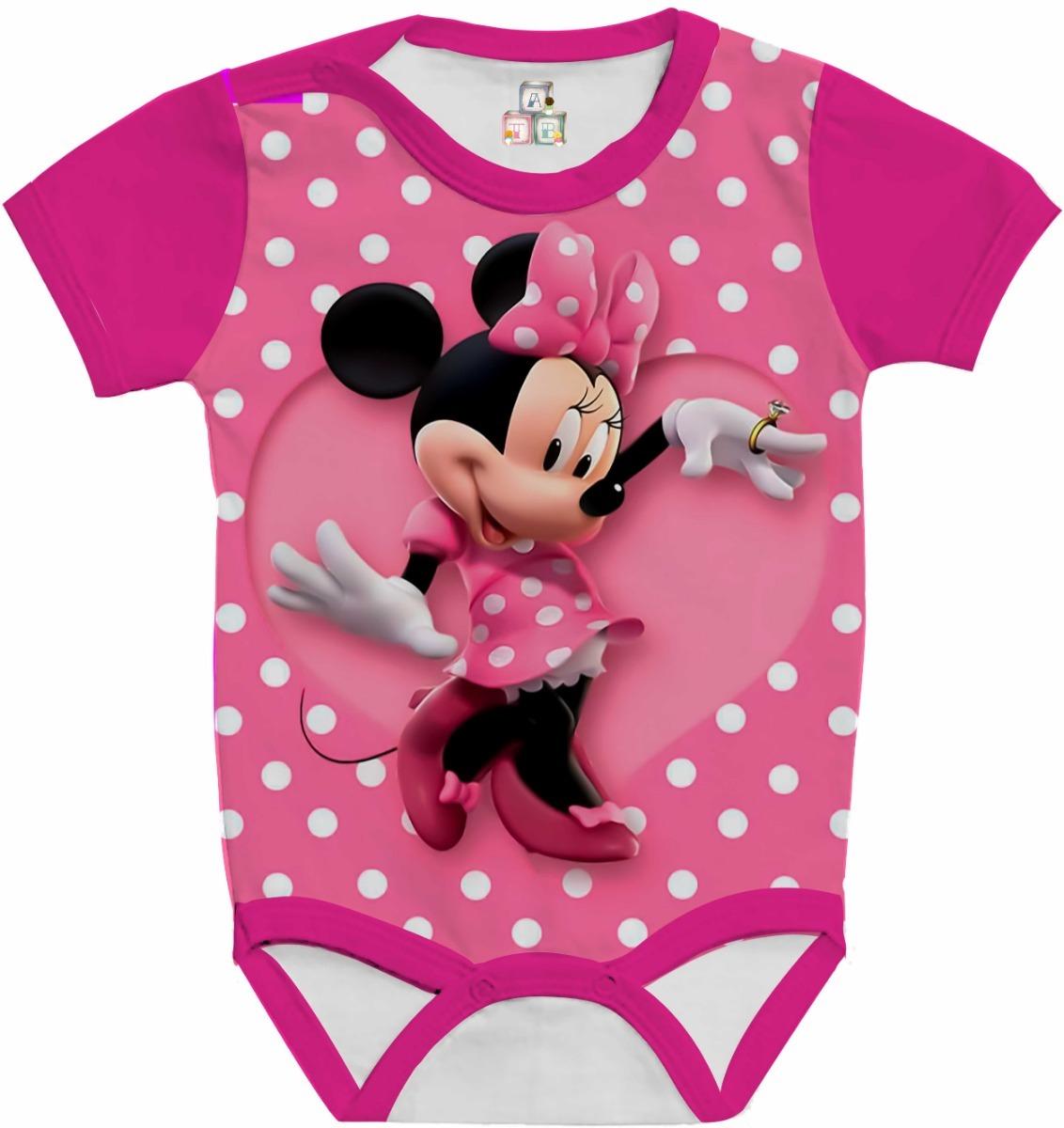 ca7ca68f7 body bebê camiseta infantil personalizada minnie mouse hd 08. Carregando  zoom.