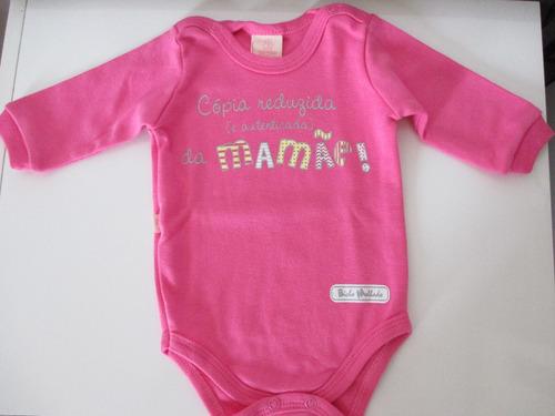 body bebê cópia reduzida da mamãe