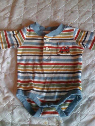 body bebê de listras - rn- gymboree