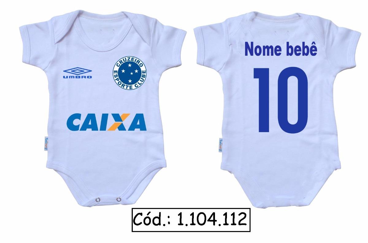 Body Bebê Futebol Cruzeiro Time Frases Engraçadas Baby R 2920 Em