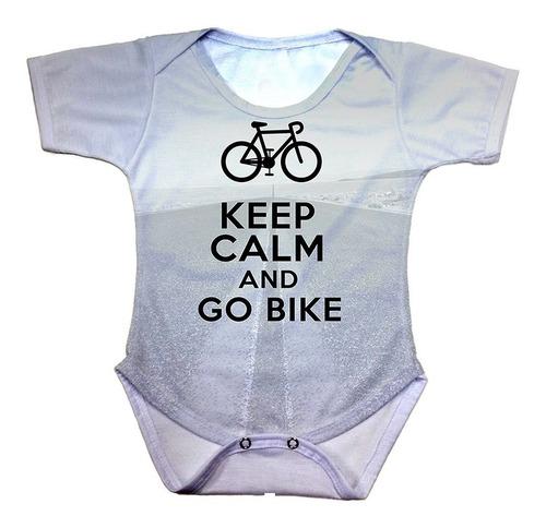 body bebê keep calm and go bike