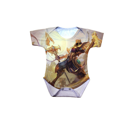 body bebê league of legends azir imperador das areias